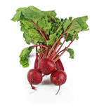 Fresh beet roots Royalty Free Stock Photo