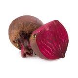 Fresh beetroot isolated on white Stock Images