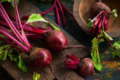 Fresh  beetroot Royalty Free Stock Photography