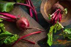 Fresh  beetroot Royalty Free Stock Photos