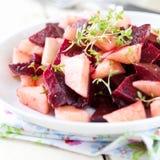 Fresh beetroot salad Stock Photos