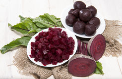 Fresh Beetroot on wooden background. Some fresh Beetroot on wooden background Stock Photos
