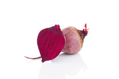 Fresh beetroots close up. stock photos
