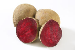 Fresh beetroots stock images