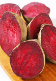 Fresh beetroots Royalty Free Stock Photos