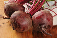 Fresh beets Stock Image