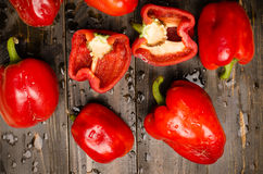 Fresh bell pepper Royalty Free Stock Photos