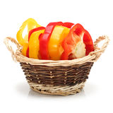 Fresh bell pepper Royalty Free Stock Images