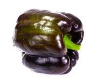 Fresh Bell Pepper. on White stock images