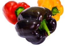 Fresh Bell Pepper. on White stock photos