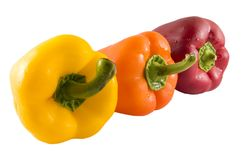 Fresh Bell Peppers Royalty Free Stock Image