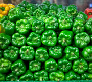 Fresh bell peppers for sale Stock Image