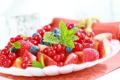 Fresh berries Stock Image