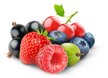 Fresh berries Royalty Free Stock Photos
