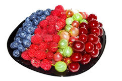 A fresh berries. A fresh and appetizing berries Stock Photography