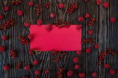 Fresh berries background Royalty Free Stock Photos