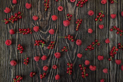 Fresh berries background Stock Photos