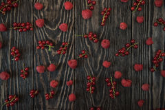 Fresh berries background Royalty Free Stock Photo
