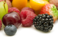Fresh berries and fruits Royalty Free Stock Image