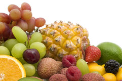 Fresh berries and fruits Stock Photo