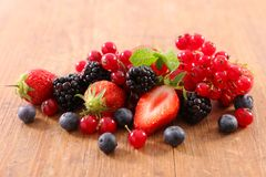 Fresh berries fruits. Close up on fresh berries fruits Royalty Free Stock Images