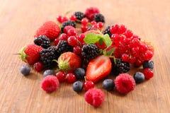 fresh berries fruits stock image