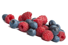 Fresh berries isolated Royalty Free Stock Images
