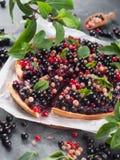 Fresh berries tart Stock Image