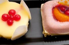 Fresh berry fruit cake Royalty Free Stock Photo