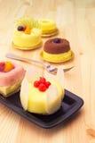 Fresh berry fruit cake Royalty Free Stock Photography