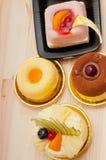 Fresh berry fruit cake Stock Photos