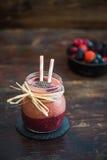 Fresh Berry Fruit Smoothie Stock Photos