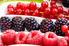 Fresh berry fruits Royalty Free Stock Photography
