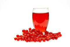 fresh berry fruits and juice Stock Images