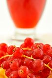 fresh berry fruits and juice Royalty Free Stock Images