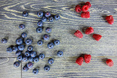 Fresh berry fruits Stock Photos