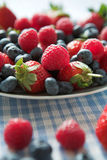 Fresh berry goodness royalty free stock image