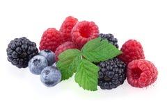 Fresh berry mix Stock Photo