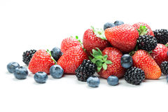 Fresh berry mix Royalty Free Stock Photography