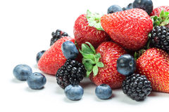 Fresh berry mix Stock Image