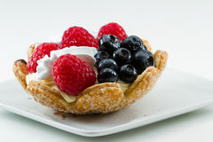 Fresh berry tart Stock Photography