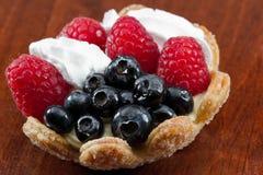 Fresh berry tart Royalty Free Stock Photo