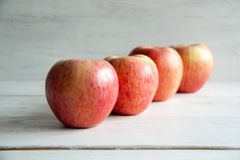 Fresh big apples. Healthy snack for every day: big apples royalty free stock images
