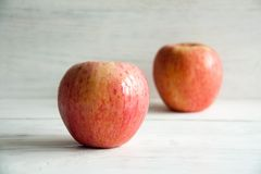 Fresh big apples. Healthy snack for every day: big apples stock image