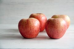 Fresh big apples. Healthy snack for every day: big apples stock photography
