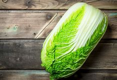 Fresh big cabbage stock images
