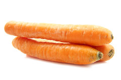 Fresh big carrots Stock Photos