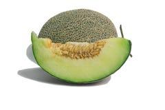 Fresh big green Melon Fruit Royalty Free Stock Image