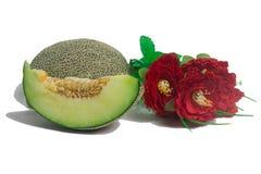 Fresh big green Melon Fruit Royalty Free Stock Images