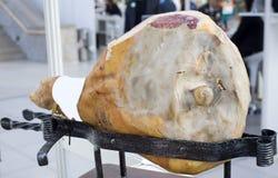 Fresh big italian parma pork bacon Royalty Free Stock Photo